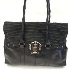 ⭐ Patricia Nash Leather and Suede Purse 🖤🖤🤩